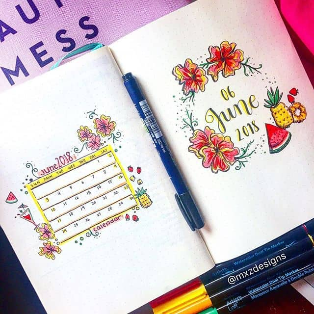 Fruity June Cover page