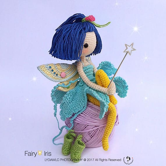 Fully Poseable Crochet Fairy Doll Pattern