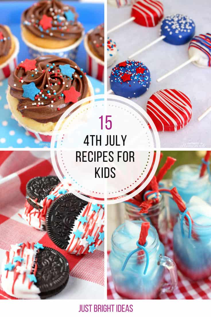 These 4th of July recipes for kids are so much fun!
