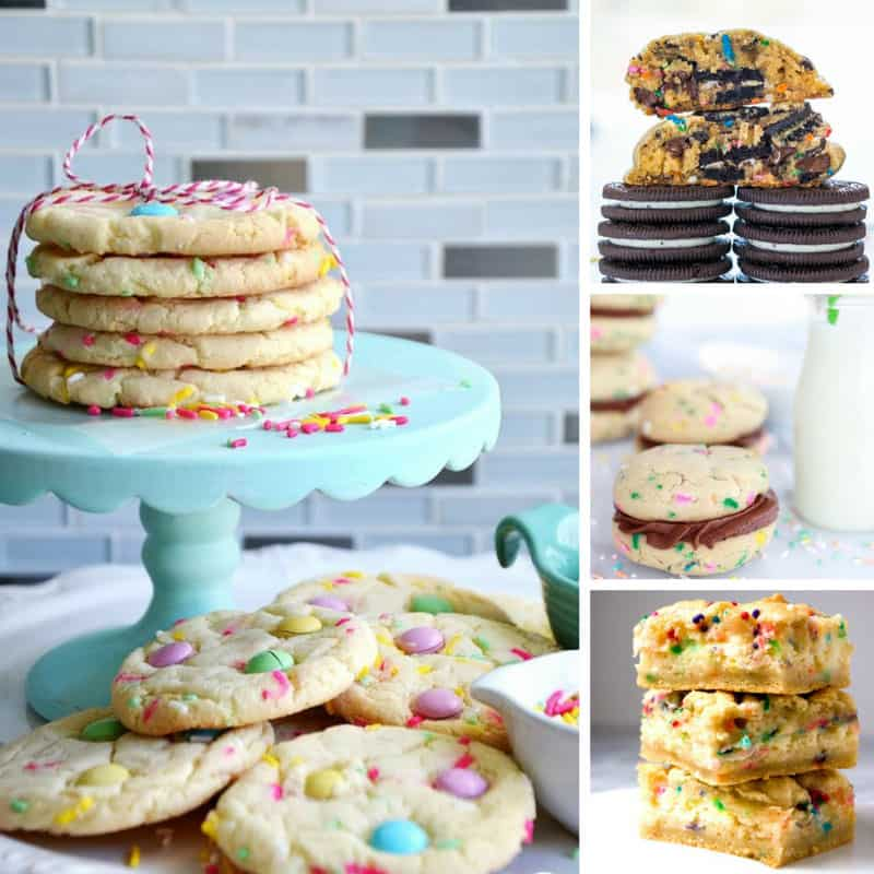 These funfetti cookies are delicious! Thanks for sharing!