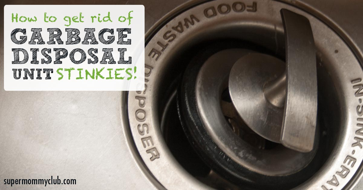 How to get rid of those garbage disposal unit stinkies!
