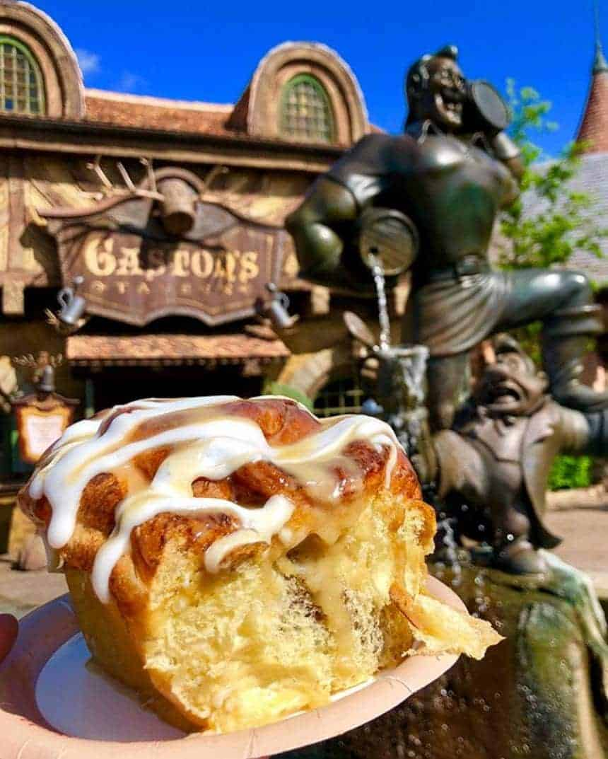 Gaston Cinnamon Roll DDP Snack Credit