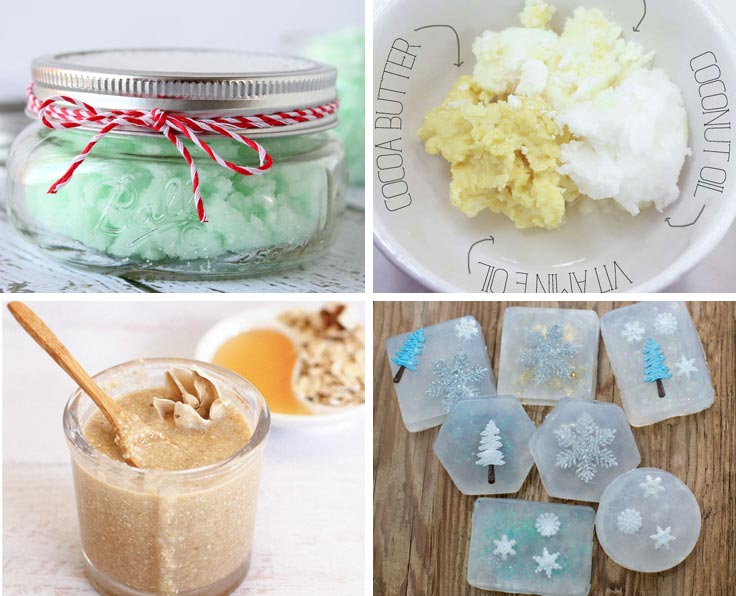 Perfect gifts in a jar for Christmas