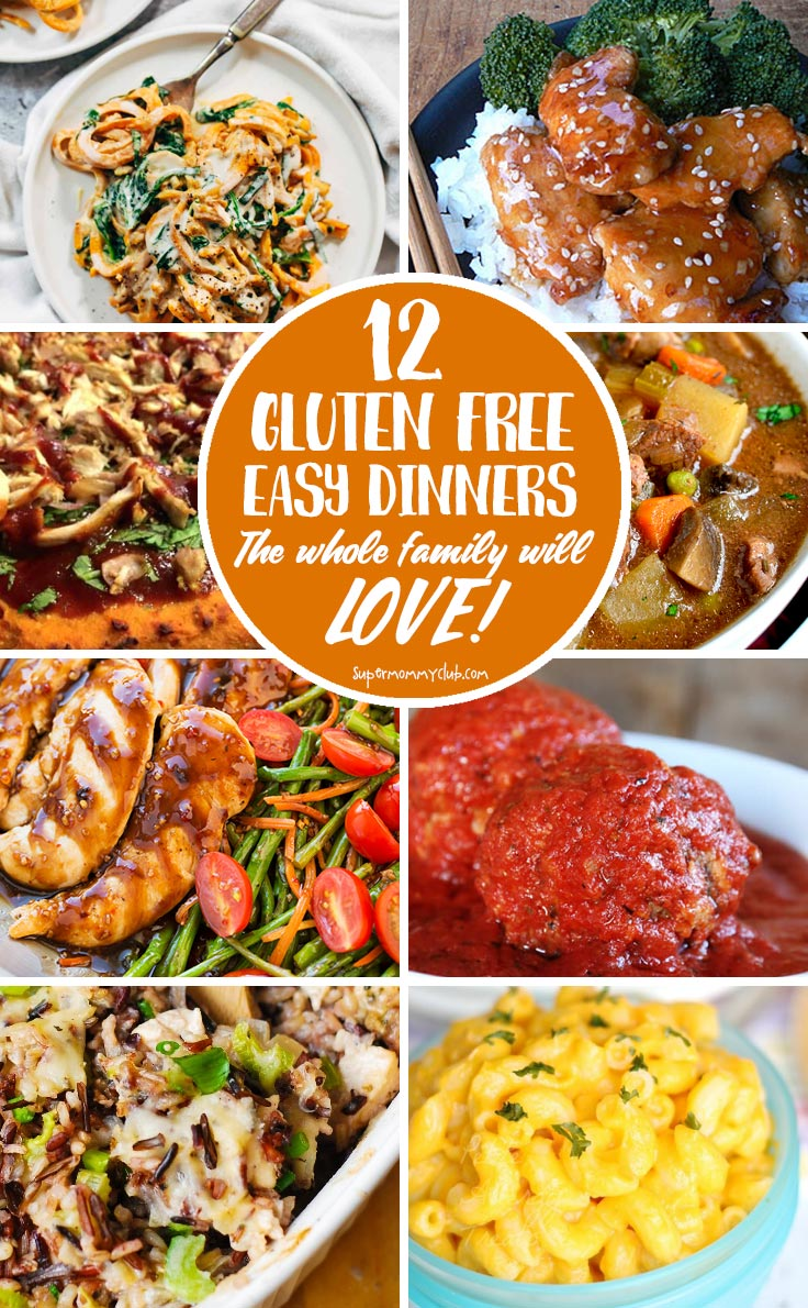 Gluten free doesn't have to be boring - these easy dinner recipes are so YUMMY the whole family will want to eat them!