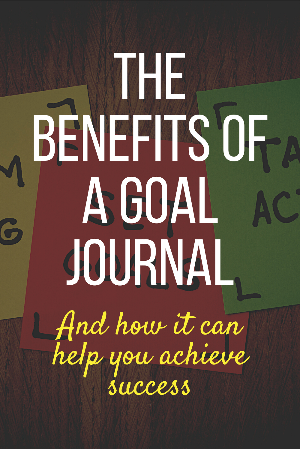 Find out 8 ways a goal journal can help you achieve success