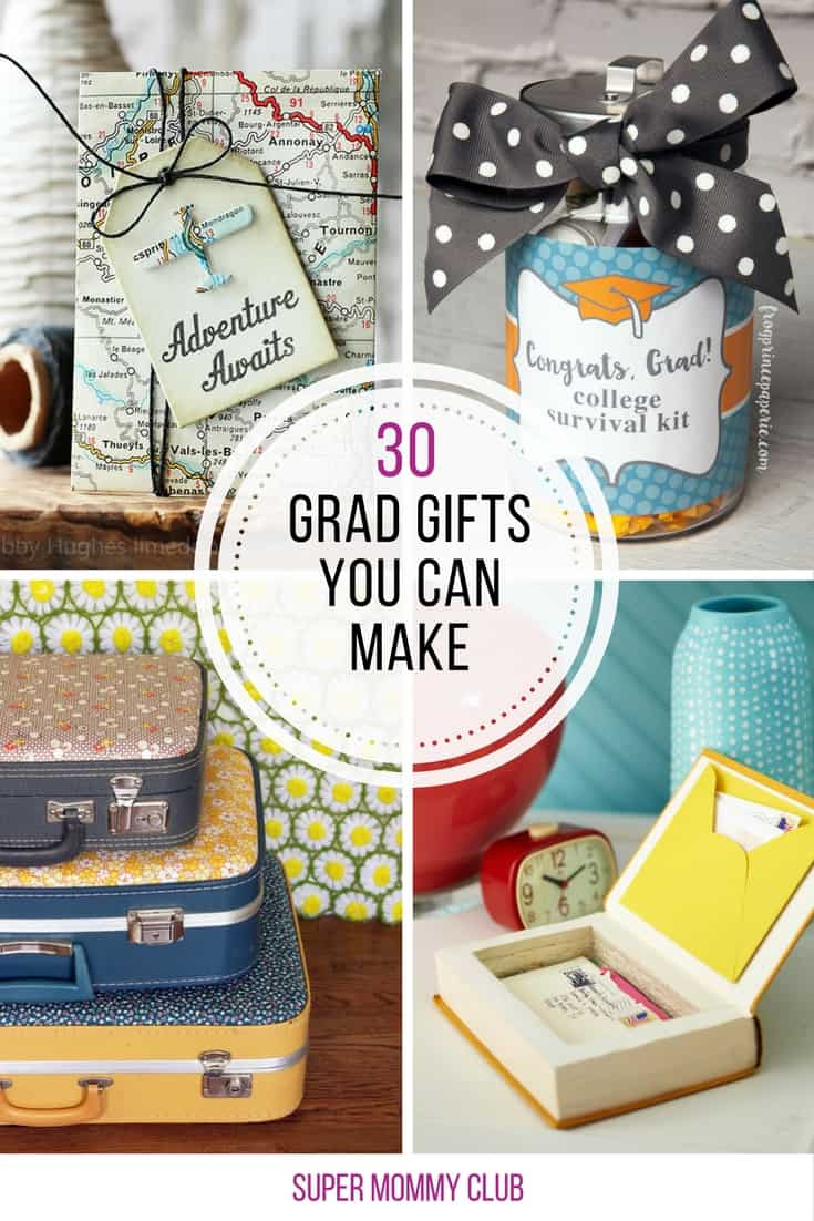At last! Unique grad gifts to make that they'll actually be able to use!