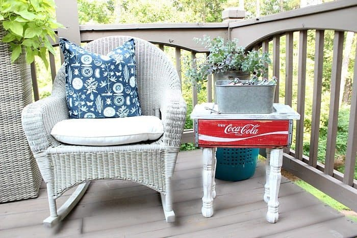 Coca Cola Crate Repurposed