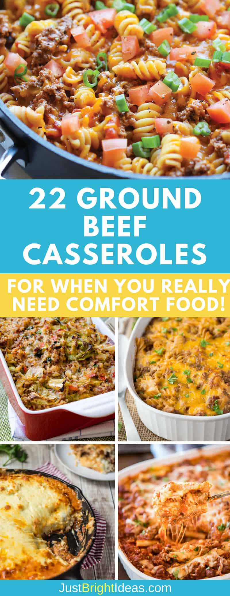 Ground Beef Casseroles - Pinterest
