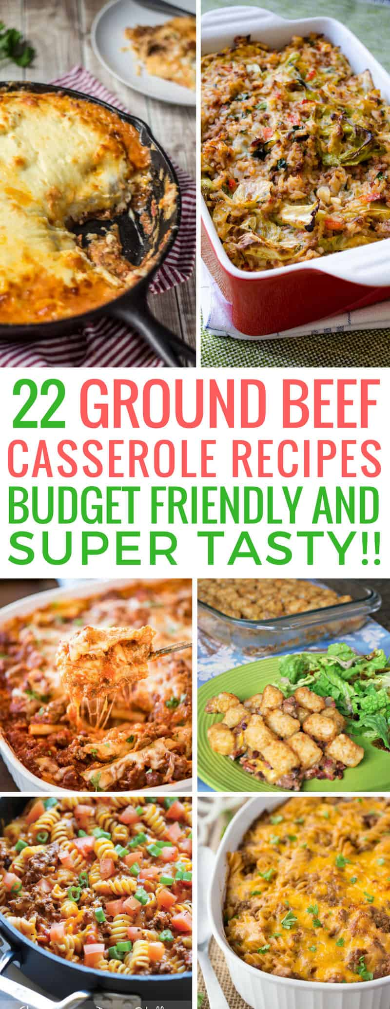 Loving these ground beef casserole recipes - great for my budget! Thanks for sharing!