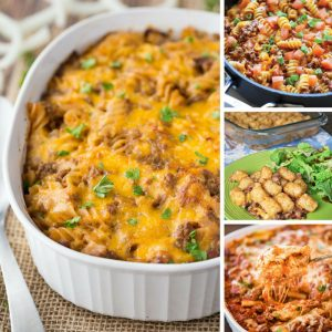 These ground beef casseroles are comfort food at its best! Thanks for sharing!