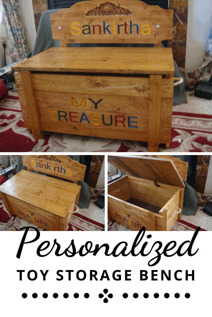 Storage Seat Toy Box