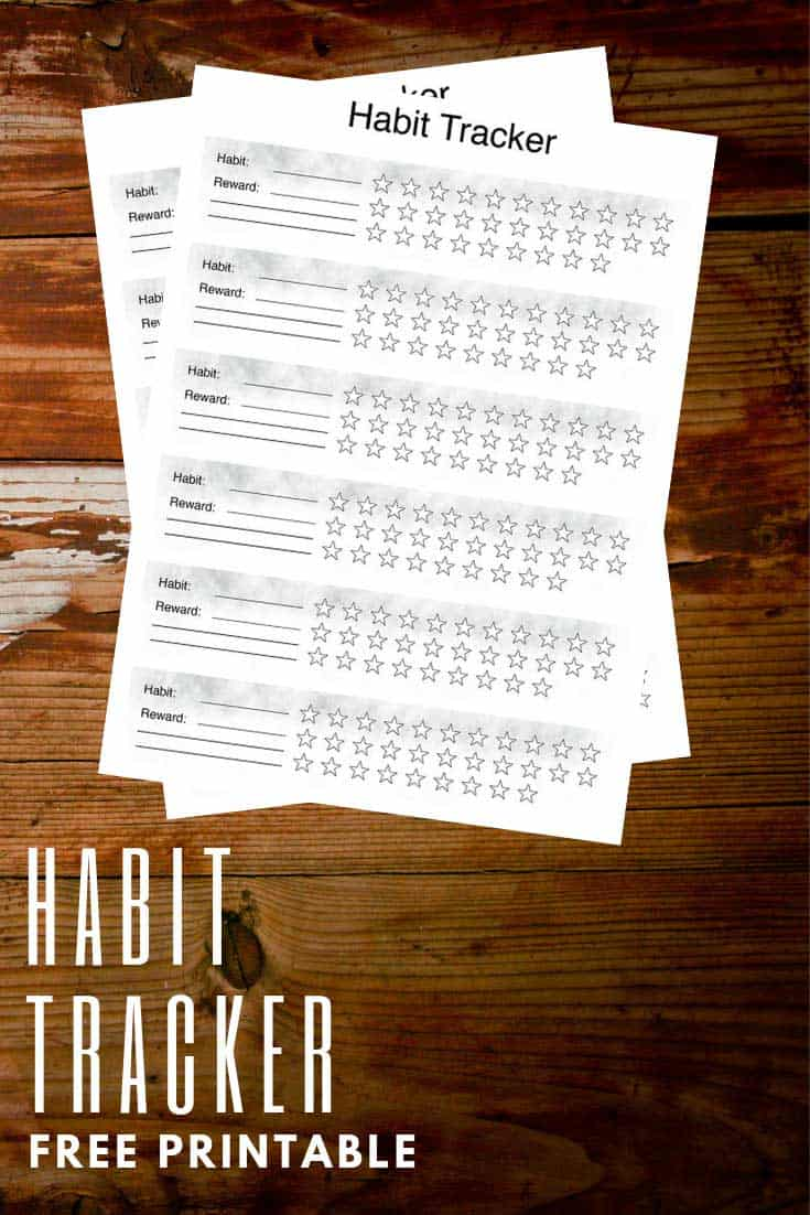You can track anything you want to change with your free habit tracker printable. We've got four healthy habits to get you started. Simple ideas that will have a big impact on your wellbeing.
