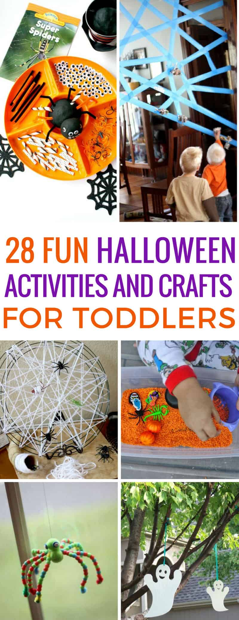 These Halloween activities are perfect for toddlers and tot school! Thanks for sharing!