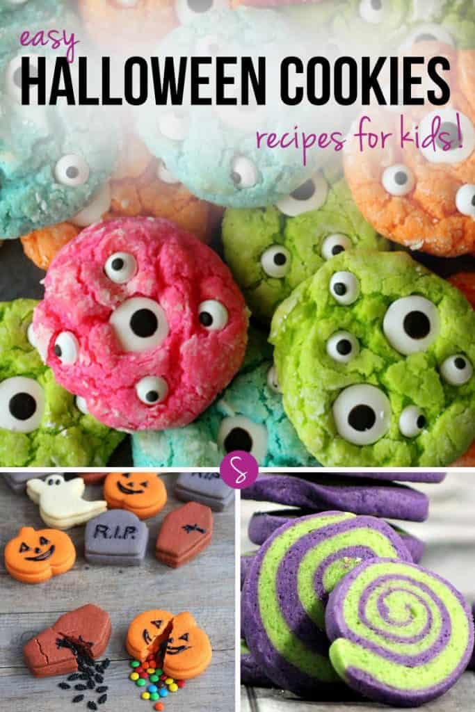 We totally have a thing for candy eyes this Halloween! And how cute are those piñata tombstone cookies!
