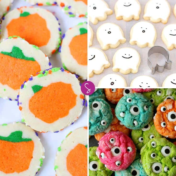 These are just the cutest Halloween Cookies for Kids!