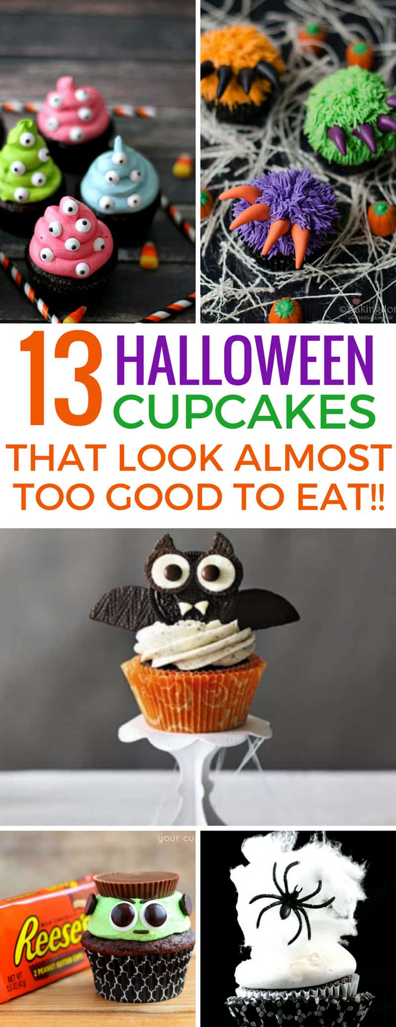 Loving these Halloween cupcakes and they will go down a storm at my kid's party! Thanks for sharing!