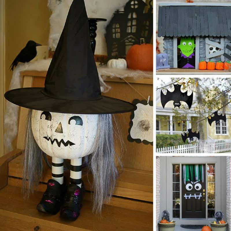 loving these diy halloween decorations and i know the kids will too
