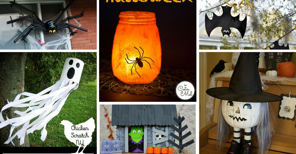 Turn your home spooky with these easy halloween How to make easy halloween decorations at home