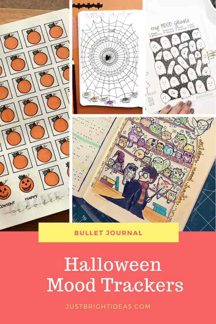 Halloween Mood Tracker Spooky October Bullet Journal Mood Tracker Ideas