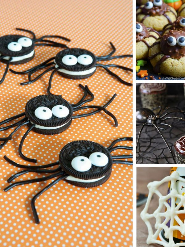 These spider treats are adorable! My kids will love them for Halloween! Thanks for sharing!