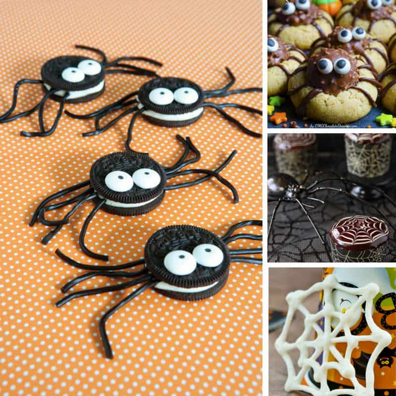 13 Super Easy Halloween Spider Recipes for Kids
