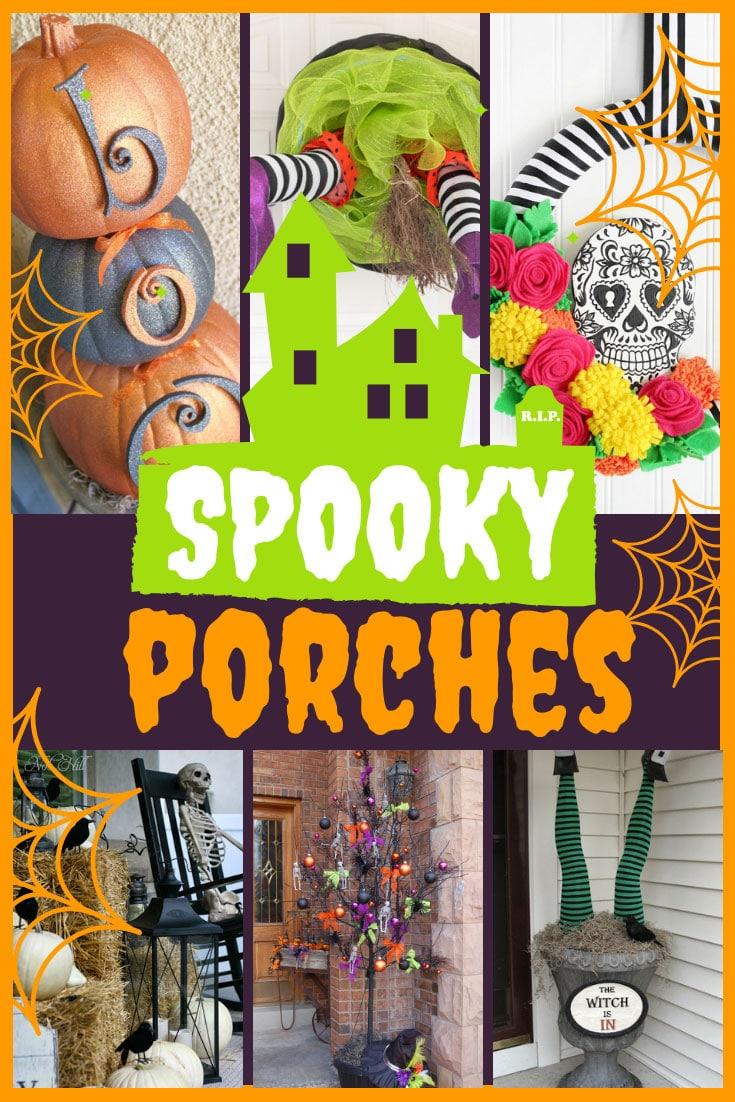 Halloween Spooky Porches