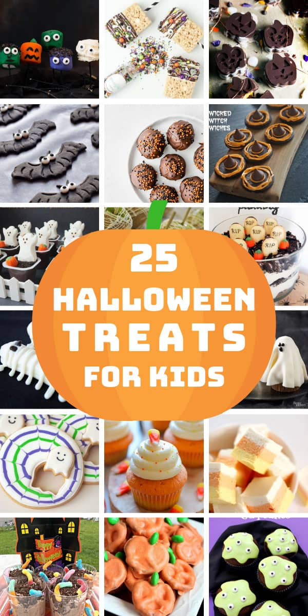 These Halloween treats for trick or treaters will go down a storm! Gluten free and sugar free options included! #halloween
