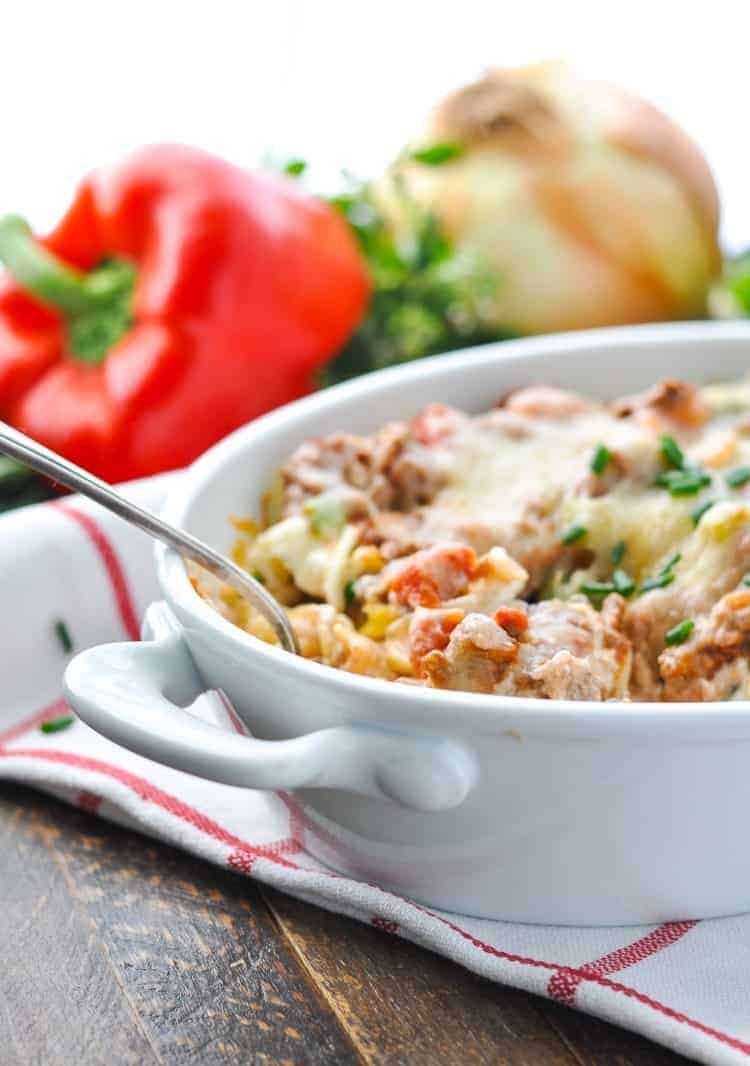 Quick and Easy Amish Hamburger Casserole
