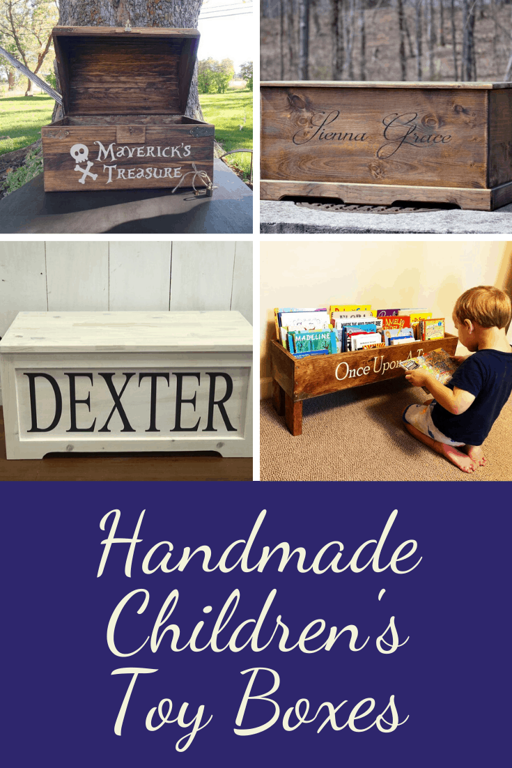 So many beautiful handmade children's toy boxes to choose from - these wooden chests will become family heirlooms!