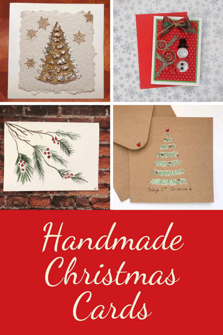 Show your loved ones how much they mean to you this Holiday season with one of these amazing handmade Christmas cards!