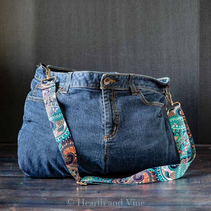 DIY Bag from Jeans