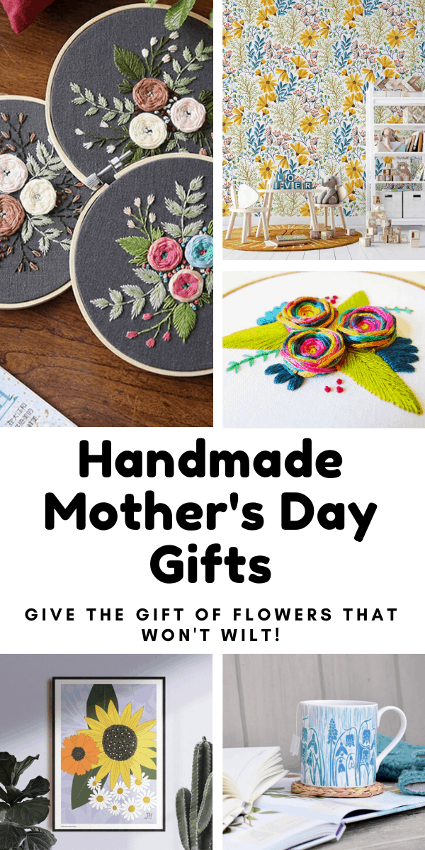 Looking for a handmade Mother's Day gift to show you mum just how much she means to you? Come and check out these floral gifts that are sure to make her smile! #mothersday #mom #handmadegift