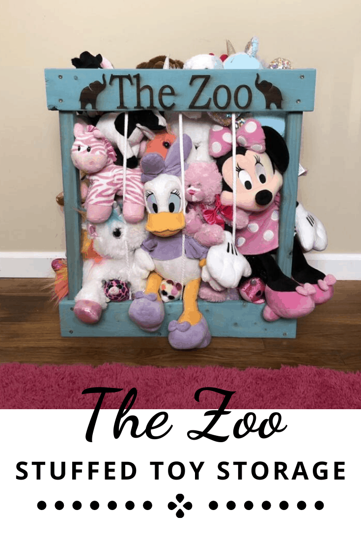 The Zoo Soft Toy Storage Cage