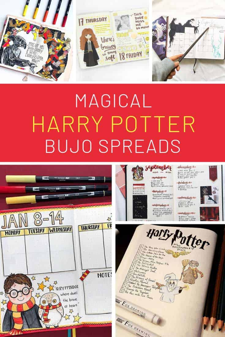 Ooh loving these Harry Potter BUJO ideas!