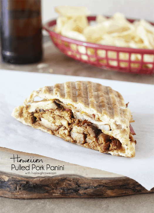 Hawaiian Pulled Pork Panini