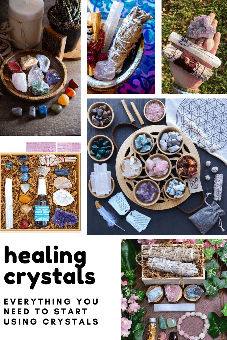 Loving these healing crystal starter sets - they make great gift ideas too