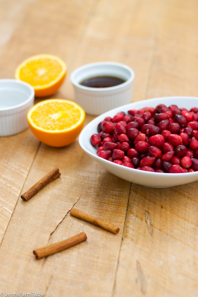 We all eat WAY too much sugar in the Holidays so this Sugar Free Cranberry Sauce makes me a feel a little less guilty!