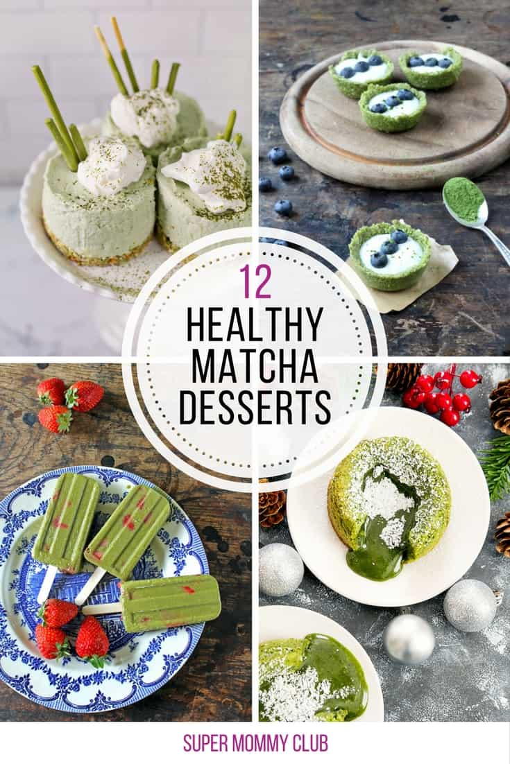 I LOVE drinking Matcha tea so I'm super excited to try out some of these green tea desserts!