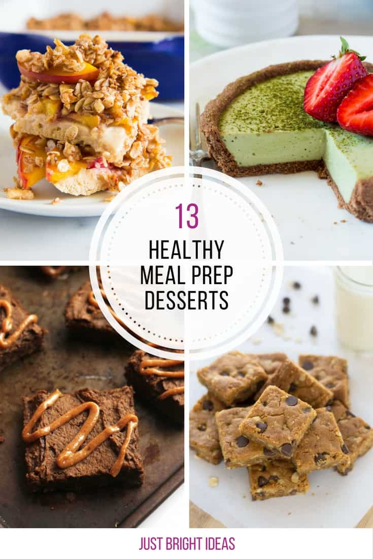 We needed some new meal prep desserts for the week ahead - can't wait to try these!