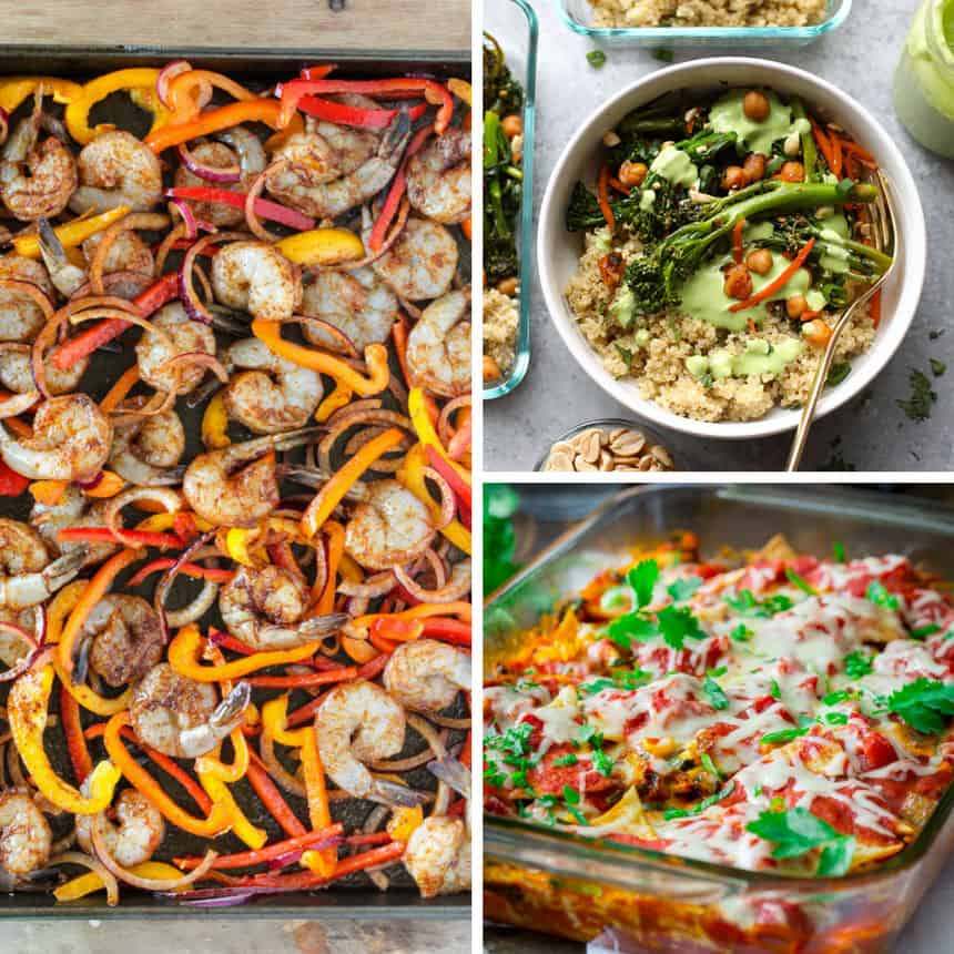 Healthy Meal Prep Dinners