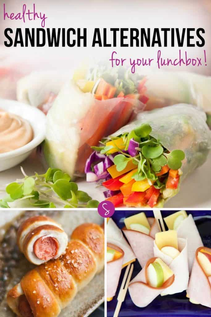 "Don't get me wrong, there's nothing wrong with a sandwich. But if you find yourself getting bored of the whole ""what topping shall I put on my bread today"" debate it's time for something new. Which is why today we're rounding up some delicious health sandwich alternatives: lunch box ideas the whole family will want to eat!"
