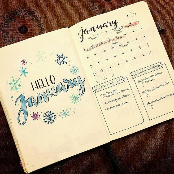 Hello January Cover Page