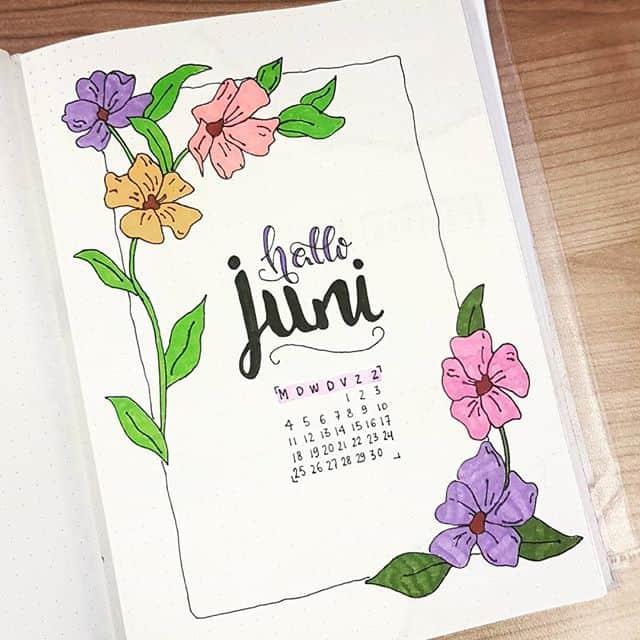 Hello June Floral