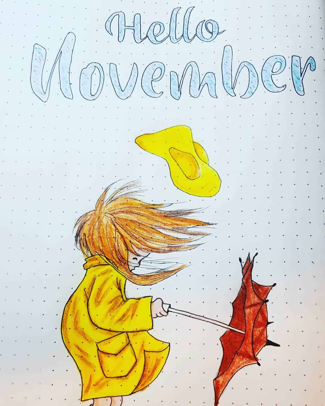 Hello November Windy Cover Page
