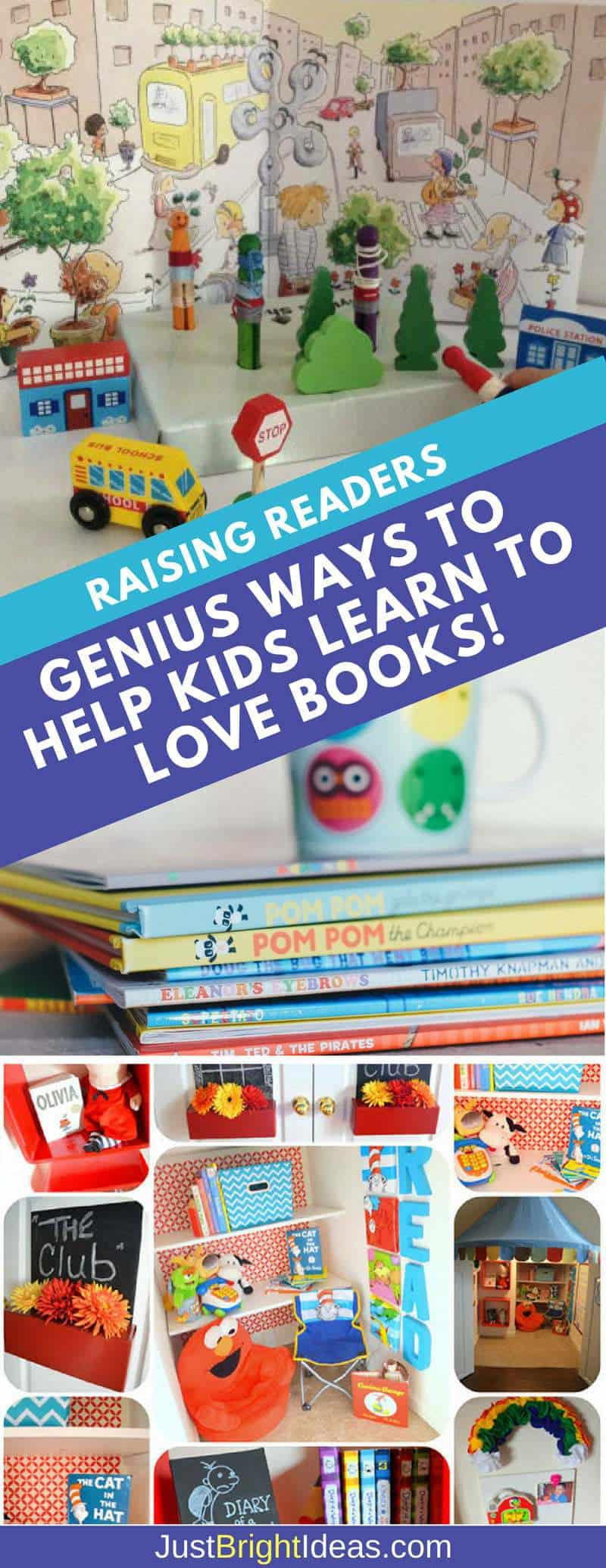 Help Kids Learn to Love Books