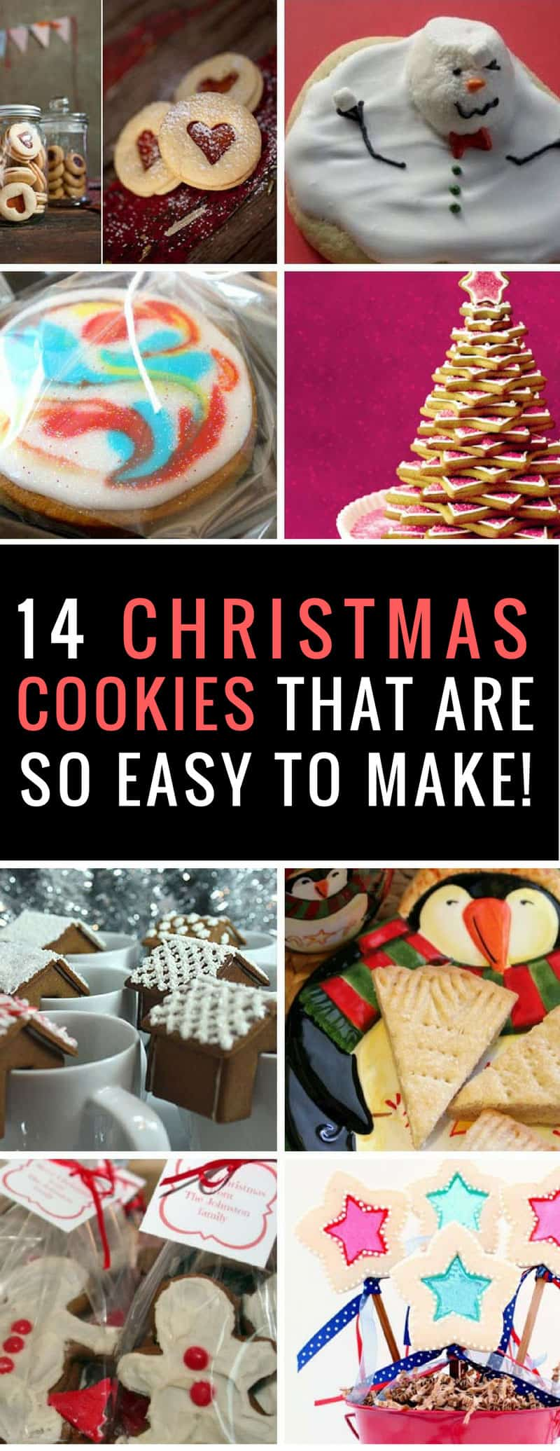 Holiday Cookie Recipes - so many adorable recipes here the whole family will enjoy making them as much as eating them! Thanks for sharing!
