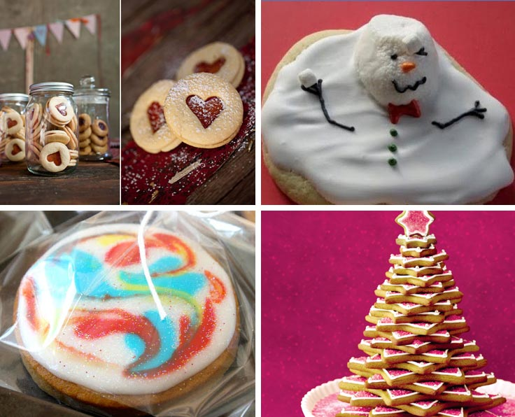 These Holiday cookies are almost too cute to eat!
