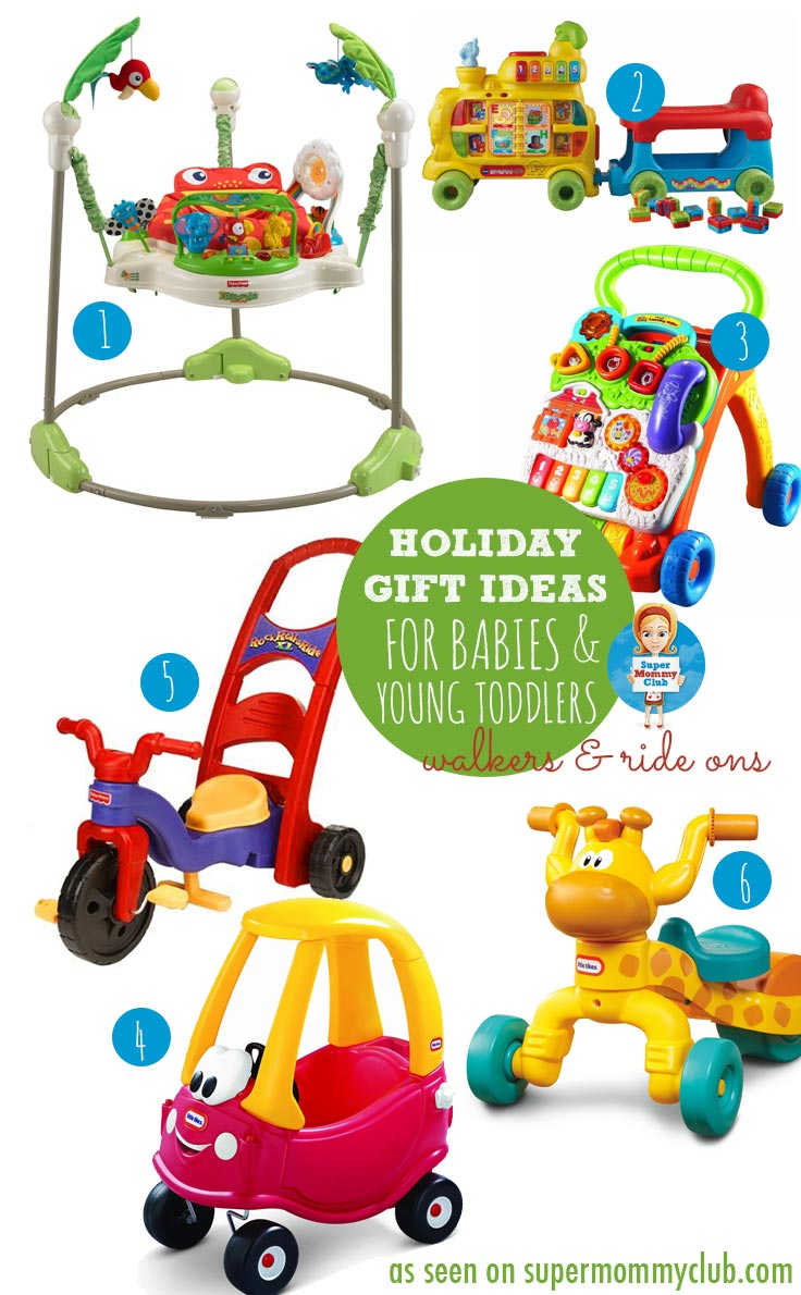 Baby walkers and ride on toys are great for older babies who are keen to find their feet and start developing their balance skills. Here are some of our favourites