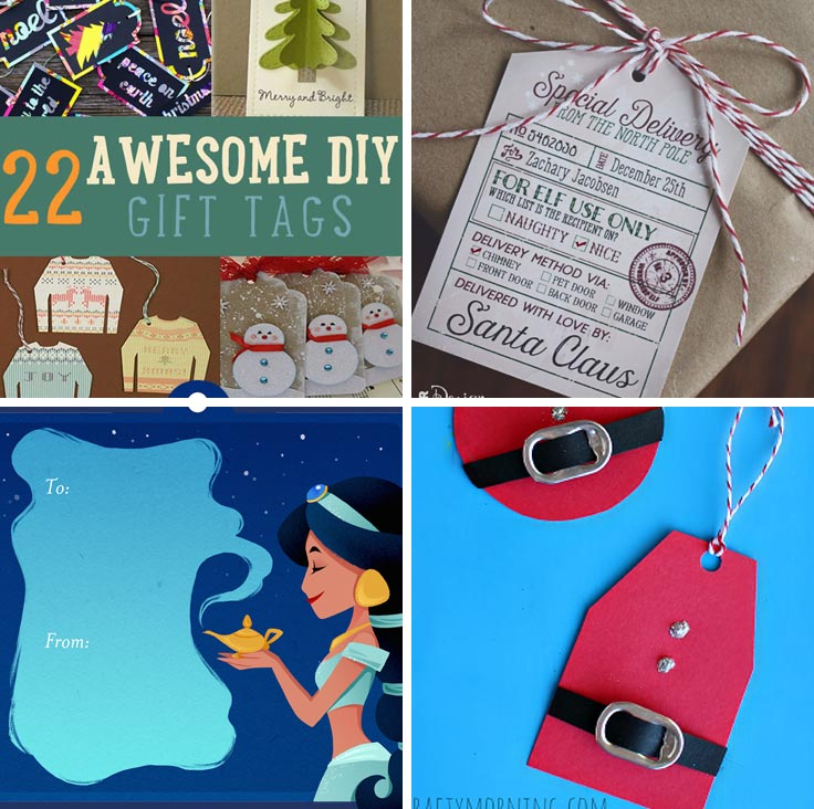 Fabulous Christmas gift tags to make your packages stand out in the crowd!