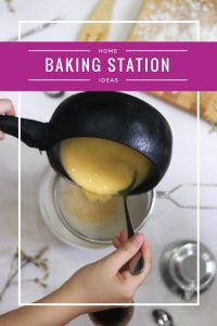 Kitchen Baking Station | Inspiration | Organzing | Homemaking